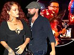 Rihanna was spotted hanging out on the town this evening in New York City, NY at Up & Down nightclub, where she had a low key meet-up with Leonardo DiCaprio, before the two left the club separately and headed to 1 Oak for more fun.\n\nPictured: Rihanna\nRef: SPL1023446  130515  \nPicture by: We Dem Boyz / Splash News\n\nSplash News and Pictures\nLos Angeles: 310-821-2666\nNew York: 212-619-2666\nLondon: 870-934-2666\nphotodesk@splashnews.com\n