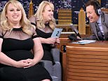 THE TONIGHT SHOW STARRING JIMMY FALLON -- Episode 0262 -- Pictured: Actress Rebel Wilson on May 13, 2015 -- (Photo by: Douglas Gorenstein/NBC/NBCU Photo Bank via Getty Images)