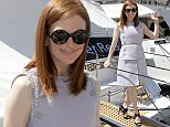 Julianne Moore to Cannes  Pictured: Julianne Moore Ref: SPL1025843  150515   Picture by: Adriano Conte / Splash News  Splash News and Pictures Los Angeles: 310-821-2666 New York: 212-619-2666 London: 870-934-2666 photodesk@splashnews.com