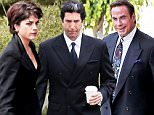 David Schwimmer filming American Crime Story playing the part of Robert Kardashian in Los Angeles.\n\nPictured: David Schwimmer and Robert Kardashian\nRef: SPL1026052  140515  \nPicture by: Clint Brewer / Splash News\n\nSplash News and Pictures\nLos Angeles: 310-821-2666\nNew York: 212-619-2666\nLondon: 870-934-2666\nphotodesk@splashnews.com\n