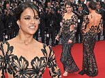 "CANNES, FRANCE - MAY 14:  Michelle Rodriguez attend the ""Mad Max : Fury Road""  Premiere during the 68th annual Cannes Film Festival on May 14, 2015 in Cannes, France.  (Photo by Venturelli/WireImage)"