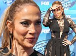 137128, Jennifer Lopez at FOX's 'American Idol' Season 14 Finale held at Dolby Theatre in Hollywood. Hollywood, California - Wednesday May 13, 2015. Photograph: © Celebrity Monitor, PacificCoastNews. Los Angeles Office: +1 310.822.0419 sales@pacificcoastnews.com FEE MUST BE AGREED PRIOR TO USAGE