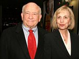Mandatory Credit: Photo by Startraks Photo/REX_Shutterstock (434883ad)  Ed Asner and wife, Cindy.  'ELF' FILM PREMIERE AND AFTER PARTY, NEW YORK, AMERICA - 02 NOV 2003