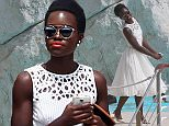 14 May 2015 - cannes - france  ** STRICTLY NOT AVAILABLE FOR AUSTRIA, SWITZERLAND, SPAIN, AUSTRALIA, SOUTH AMERICA, ITALY, BELGIUM, NETHERLANDS, JAPAN AND FRANCE **  LUPITA NYONGO AT EDEN ROC  BYLINE MUST READ : XPOSUREPHOTOS.COM  ***UK CLIENTS - PICTURES CONTAINING CHILDREN PLEASE PIXELATE FACE PRIOR TO PUBLICATION ***  **UK CLIENTS MUST CALL PRIOR TO TV OR ONLINE USAGE PLEASE TELEPHONE   44 208 344 2007 **