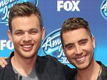 Mandatory Credit: Photo by Jim Smeal/BEI/REX Shutterstock (4770974bu)  Clark Beckham and Nick Fradiani  'American Idol Season Finale', Los Angeles, America - 13 May 2015