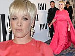BEVERLY HILLS, LOS ANGELES, CA, USA - MAY 12: Singer P!nk (Alecia Moore) and husband Carey Hart arrive at the 63rd Annual BMI Pop Music Awards held at the Beverly Wilshire Hotel on May 12, 2015 in Beverly Hills, Los Angeles, California, United States. (Photo by Xavier Collin/Image Press/Splash)  Pictured: Carey Hart, P!nk, Alecia Moore Ref: SPL1024332  120515   Picture by: Xavier Collin/Image Press/Splash  Splash News and Pictures Los Angeles: 310-821-2666 New York: 212-619-2666 London: 870-934-2666 photodesk@splashnews.com