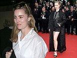 CANNES, FRANCE - MAY 15:  Actress Melissa George is seen at Nice airport during the 68th annual Cannes Film Festival on May 15, 2015 in Cannes, France.  (Photo by Marc Piasecki/GC Images,)