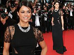 """CANNES, FRANCE - MAY 15:  Michelle Rodriguez attends the Premiere of """"Irrational Man"""" during the 68th annual Cannes Film Festival on May 15, 2015 in Cannes, France.  (Photo by Gisela Schober/Getty Images)"""