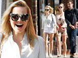 137176, EXCLUSIVE: Margot Robbie's car towed while going out for lunch on her day off from filming Suicide Squad in Toronto. Robbie and a girlfriend stopped to pick up a male friend before heading to a pizza restaurant for lunch then a cafe for dessert. The trio did not realize that they had parked in a parking restricted zone and upon returning to the car they realized that it had already been towed away. They were informed by a passerby that the car had been towed away and took a 30 minute cab ride to collect the car from an impound lot. Toronto, Canada - Thursday May 14, 2015. CANADA OUT Photograph: © PacificCoastNews. Los Angeles Office: +1 310.822.0419 sales@pacificcoastnews.com FEE MUST BE AGREED PRIOR TO USAGE