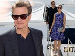 15 May 2015 - Cannes - France  Colin Firth seen leaving the Sunliner X Yacht  with his wife Livia Giuggioli during 68th Cannes Film Festival 2015   BYLINE MUST READ : XPOSUREPHOTOS.COM  ***UK CLIENTS - PICTURES CONTAINING CHILDREN PLEASE PIXELATE FACE PRIOR TO PUBLICATION ***  **UK CLIENTS MUST CALL PRIOR TO TV OR ONLINE USAGE PLEASE TELEPHONE  44 208 344 2007 ***