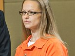 Angelika Graswald, right, stands in court with Michael Archer a forensic scientist, as her attorneys ask for bail and to unseal the indictment against her during a hearing Wednesday, May 13, 2015, in Goshen, N.Y.  Graswald has been charged with second-degree murder in the disappearance of her fiance, Vincent Viafore while kayaking on the Hudson River. (Allyse Pulliam/Times Herald-Record via AP, Pool)