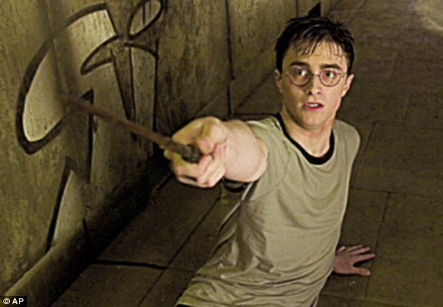 Resemblance: Ryan Walker, 19, wears glasses and has short black hair, just like actor Daniel Radcliffe who plays the young wizard in the hit film series