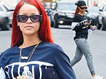 Mandatory Credit: Photo by Buzz Foto/REX Shutterstock (4775398i)\n Rihanna\n Rihanna out and about, New York, America - 16 May 2015\n \n
