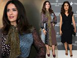 CANNES, FRANCE - MAY 16:  Actress Salma Hayek attends the Variety and UN Women's panel discussion on gender equality at 68th Cannes Film Festival at Radisson Blu on May 16, 2015 in Cannes, France.  (Photo by Neilson Barnard/Getty Images for Variety)
