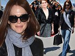 CANNES, FRANCE - MAY 16:  Julianne Moore is seen at Nice Airport during the 68th annual Cannes Film Festival on May 16, 2015 in Cannes, France.  (Photo by Jacopo Raule/GC Images,)