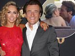 Mandatory Credit: Photo by REX_Shutterstock (4536414l).. Kym Johnson and Robert Herjavec.. 'Dancing with the Stars' Season 20 Debut Party, Los Angeles, America - 16 Mar 2015.. ..