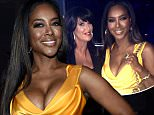 """NBCUNIVERSAL CABLE ENTERTAINMENT UPFRONT --  """"2015 NBCUniversal Cable Entertainment Upfront at the Javits Center in New York City on Thursday, May 14, 2015"""" -- Pictured: Kenya Moore, ?The Real Housewives of Atlanta? on Bravo -- (Photo by: Mike Coppola/NBCUniversal Cable Entertainment/NBCU Photo Bank via Getty Images)"""