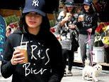 Actress Vanessa Hudgens and her sister Stella Hudgens walk her dog Darla on a coffee run in New York City.\n\nPictured: Stella Hudgens and Vanessa Hudgens\nRef: SPL1026472  150515  \nPicture by: Christopher Peterson/Splash News\n\nSplash News and Pictures\nLos Angeles: 310-821-2666\nNew York: 212-619-2666\nLondon: 870-934-2666\nphotodesk@splashnews.com\n