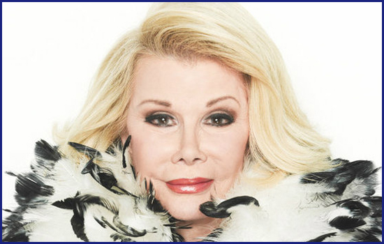 Joan Rivers suffered from medical malpractice