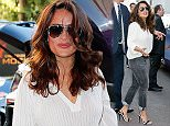16 May 2015 - Cannes - France  Salma Hayek seen leaving Le Grand Palais during 68th Cannes Film Festival 2015   BYLINE MUST READ : XPOSUREPHOTOS.COM  ***UK CLIENTS - PICTURES CONTAINING CHILDREN PLEASE PIXELATE FACE PRIOR TO PUBLICATION ***  **UK CLIENTS MUST CALL PRIOR TO TV OR ONLINE USAGE PLEASE TELEPHONE  44 208 344 2007 ***