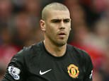 "Football - Manchester United v Arsenal - Barclays Premier League - Old Trafford - 17/5/15  Manchester United's Victor Valdes comes on as a substitute  Action Images via Reuters / Jason Cairnduff  Livepic  EDITORIAL USE ONLY. No use with unauthorized audio, video, data, fixture lists, club/league logos or ""live"" services. Online in-match use limited to 45 images, no video emulation. No use in betting, games or single club/league/player publications.  Please contact your account representative for further details."
