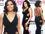 Taraji P. Henson arrives at the Billboard Music Awards at the MGM Grand Garden Arena on Sunday, May 17, 2015, in Las Vegas. (Photo by Eric Jamison/Invision/AP)