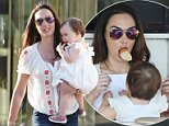 Tamara Ecclestone and Jay Rutland having dinner with their daughter in Cannes, France.  Pictured: Tamara Ecclestone and Sophia Rutland Ref: SPL1028922  170515   Picture by: Splash News  Splash News and Pictures Los Angeles: 310-821-2666 New York: 212-619-2666 London: 870-934-2666 photodesk@splashnews.com