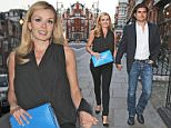 MUST BYLINE: EROTEME.CO.UK\nKatherine Jenkins and Andrew Levitas seen on a dinner date arriving at Scott's.\nNON-EXCLUSIVE    May 17,  2015\nJob: 150517L1    London, England\nEROTEME.CO.UK\n44 207 431 1598\nRef:  341629\n