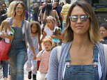 17.MAY.2015 - LOS ANGELES - USA\\n*STRICTLY AVAILABLE FOR UK AND GERMANY USE ONLY*\\nJESSICA ALBA TOOK HER GIRLS HONOR AND HAVEN SHOPPING AT AMERICAN GIRLS STORE WITH FRIENDS, AT THE GROVE MALL.\\nBYLINE MUST READ : XPOSUREPHOTOS.COM\\n***UK CLIENTS - PICTURES CONTAINING CHILDREN PLEASE PIXELATE FACE PRIOR TO PUBLICATION ***\\n*UK CLIENTS MUST CALL PRIOR TO TV OR ONLINE USAGE PLEASE TELEPHONE 0208 344 2007*\\n