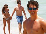 """Picture Shows: Miles Teller, Keleigh Sperry  May 17, 2015\n \n Actor, Miles Teller and his girlfriend Keleigh Sperry walk hand in hand while enjoying a day on the beach in Miami, Florida. Miles is currently in Miami filming scenes for his new movie """"Arms And The Dudes."""" \n \n Non-Exclusive\n UK RIGHTS ONLY\n \n Pictures by : FameFlynet UK © 2015\n Tel : +44 (0)20 3551 5049\n Email : info@fameflynet.uk.com"""