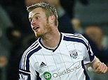 """Football - West Bromwich Albion v Chelsea - Barclays Premier League - The Hawthorns - 18/5/15  Chris Brunt celebrates after scoring the third goal for West Brom  Reuters / Eddie Keogh  Livepic  EDITORIAL USE ONLY. No use with unauthorized audio, video, data, fixture lists, club/league logos or """"live"""" services. Online in-match use limited to 45 images, no video emulation. No use in betting, games or single club/league/player publications.  Please contact your account representative for further details."""
