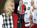 Singer Rita Ora arrives at the 2015 Billboard Music Awards in Las Vegas, Nevada May 17, 2015. REUTERS/L.E. Baskow