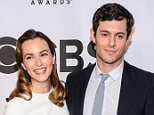 120465, Leighton Meester and Adam Brody arrive at the 68th Annual Tony Awards in New York City. New York, New York - Sunday June 8, 2014. Photograph: © PacificCoastNews. Los Angeles Office: +1 310.822.0419 London Office: +44 208.090.4079 sales@pacificcoastnews.com FEE MUST BE AGREED PRIOR TO USAGE