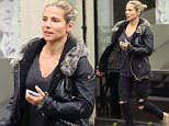 EXCLUSIVE: Chris Hemsworth Spouse, Elsa Pataky, is spotted out having manicure and nails painted in Central London.....Pictured: Elsa Pataky..Ref: SPL1023715  180515   EXCLUSIVE..Picture by: James Jenkins/Splash News....Splash News and Pictures..Los Angeles: 310-821-2666..New York: 212-619-2666..London: 870-934-2666..photodesk@splashnews.com..