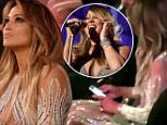 EXCLUSIVE: J Lo texts while sitting next to Casper Smart at their first event back together as Mariah Carey does her Billboard Awards 1st performance in eighteen years. J Lo had been flicking through her phone as the diva was singing her new song 'Infinity'. Later Jennifer put her phone in her dress pocket and continued to watch the ending of the song and bop her head along with Capser. Taylor Swift also claps along with Calvin Harris and cheers as Mariah hit her famous high notes in the song. Jennifer, in the footsteps of Mariah, is about to embark on a Las Vegas residency in the winter of 2016. \n\nPictured: Jennifer Lopez\nRef: SPL1028281  180515   EXCLUSIVE\nPicture by: Splash News\n\nSplash News and Pictures\nLos Angeles: 310-821-2666\nNew York: 212-619-2666\nLondon: 870-934-2666\nphotodesk@splashnews.com\n