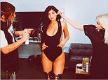 kyliejennerbehind the scenes.