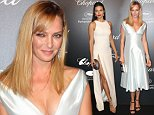 CANNES, FRANCE - MAY 18:  Uma Thurman attends the Chopard party during the 68th annual Cannes Film Festival on May 18, 2015 in Cannes, France.  (Photo by Antonio de Moraes Barros Filho/FilmMagic,)