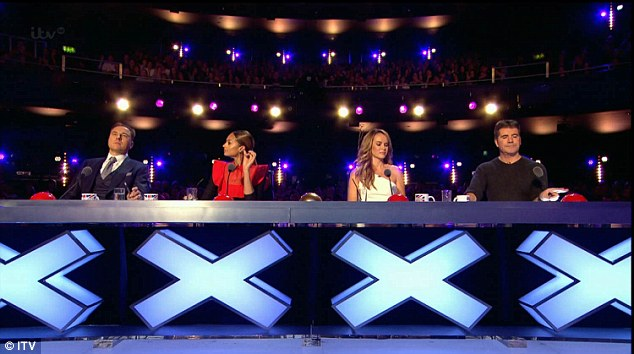 Yes! While Simon and David were at odds, (l-r) Alesha Dixon and Amanda Holden praised Paul's perfromance