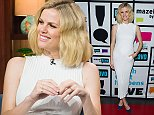 WATCH WHAT HAPPENS LIVE -- Pictured: Brooklyn Decker -- (Photo by: Charles Sykes/Bravo/NBCU Photo Bank via Getty Images)