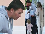 05/17/2015\nExclusive May 18, 201 Athlete under fire Tom Brady spotted with wife Gisele Bundchen and daughter Vivian Brady packing up at the airport in the Bahamas. Tom and the family were in the Bahamas attending the wedding for will mcdonough at Bakers Bay.  The all star quarterback just last week appealed the 4 game suspension leveed against him by the NFL. ***NO usage without agreed price and terms. Please contact--- sales@theimagedirect.com  or Chris @ 610-308-7304\nsales@theimagedirect.com Please byline:TheImageDirect.com\n*EXCLUSIVE PLEASE EMAIL sales@theimagedirect.com FOR FEES BEFORE USE