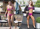 Picture Shows: Chanelle Hayes\n\nApril 10, 2015:\n\n*** Min Web / Online Fee £400 For Set **\n** Min Mag Fee £250 Per Pic **\n\nEnglish singer and television personality Chanelle Hayes flaunts her noticeably fuller figure while on holiday with her young son, Blakely Hayes-Bates.\n\nThe twenty-seven year-old was wearing a hot pink bikini and could be seen splashing around in the pool with her cute son before relaxing on a sun lounger.\n\n*** Min Web / Online Fee £400 For Set **\n** Min Mag Fee £250 Per Pic **\n\nExclusive All Rounder\nWORLDWIDE RIGHTS\nPictures by : FameFlynet UK © 2015\nTel : +44 (0)20 3551 5049\nEmail : info@fameflynet.uk.com