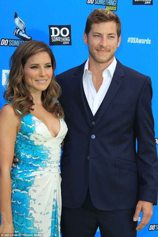Fredinburg used to be in a relationship with One Tree Hill and Chicago PD actress Sophia Bush. The pair are pictured together at the Do Something Awards in 2013
