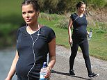 Helen Flanagan seen filling up her car at the petrol station before checking out photos of the Royal Baby and then heads on a long walk around Sutton Park in Birmingham \n\n***EXCLUSIVE ALL ROUND***\n\n***LUMINOUS***\n\n\n\nDanny Ryan \n07515678193\n\n