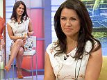 EDITORIAL USE ONLY. NO MERCHANDISING  Mandatory Credit: Photo by Ken McKay/ITV/REX Shutterstock (4778614f)  Susanna Reid  'Good Morning Britain' TV Programme, London, Britain. - 18 May 2015