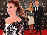 19 May 2015 - MANCHESTER - UK  WAYNE ROONEY AND COLEEN ROONEY ARRIVING AT THE MANCHESTER UNITED PLAYER OF THE YEAR AWARDS 2015 AT OLD TRAFFORD  BYLINE MUST READ : XPOSUREPHOTOS.COM  ***UK CLIENTS - PICTURES CONTAINING CHILDREN PLEASE PIXELATE FACE PRIOR TO PUBLICATION ***  **UK CLIENTS MUST CALL PRIOR TO TV OR ONLINE USAGE PLEASE TELEPHONE   44 208 344 2007 **