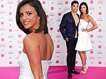 Louis Smith (left) and Lucy Mecklenburgh attending Lorraine's High Street Fashion Awards at the Grand Connaught Rooms, London. PRESS ASSOCIATION Photo. Picture date: Tuesday May 19, 2015. Photo credit should read: Ian West/PA Wire