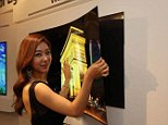 Forget buying a clunky wall mount for your TV... what if you could stick it up like a fridge magnet? LG Display is hoping you'll do just that. The company has unveiled a 55-inch OLED screen that's so thin and light (0.04 inches and 4.2 pounds) that you can put it on your wall using a magnetic mat. The design doesn't exactly leave room for much else -- you'd probably need a breakout box for TV functions -- but it raises the possibility of big-screen sets that easily blend into your living room's decor. Unfortunately, LG isn't saying if or when this panel will translate into a real product. You'll most likely have to settle for the company's more conventional OLED TVs in the short term, including a giant 99-incher due this year.