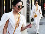 Picture Shows: Vanessa Hudgens  May 19, 2015\n \n Actress Vanessa Hudgens looks stylish while leaving her apartment in New York City, New York. Vanessa is currently dazzling Broadway audiences as the lead in 'Gigi'. \n \n Non Exclusive\n UK RIGHTS ONLY\n \n Pictures by : FameFlynet UK © 2015\n Tel : +44 (0)20 3551 5049\n Email : info@fameflynet.uk.com