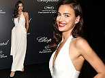 68th Annual Cannes Film Festival - Chopard party - Arrivals Featuring: Irina Shayk Where: Cannes, France When: 18 May 2015 Credit: IPA/WENN.com **Only available for publication in UK, USA, Germany, Austria, Switzerland**