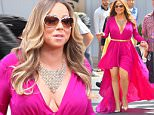 Mariah Carey is seen arriving at Disneyland for a performance on Michael and Kelly. The songstress wore a florescent pink dress\n\nPictured: Mariah Carey\nRef: SPL1030819  190515  \nPicture by: Fern / Splash News\n\nSplash News and Pictures\nLos Angeles: 310-821-2666\nNew York: 212-619-2666\nLondon: 870-934-2666\nphotodesk@splashnews.com\n